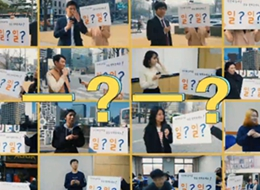 Street interviews in Korea